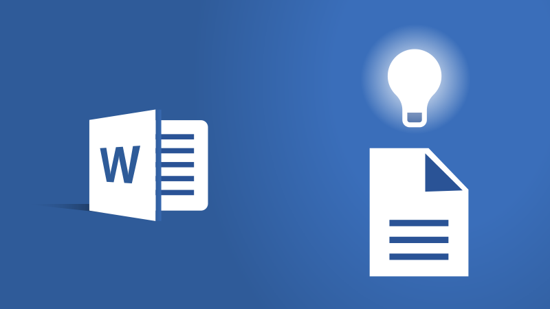 New intelligent features in Word