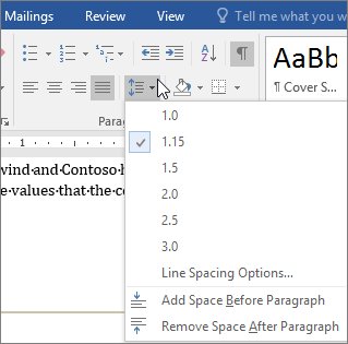Microsoft Word Change Spacing Between Letters