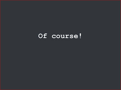 Cascading text slide 3