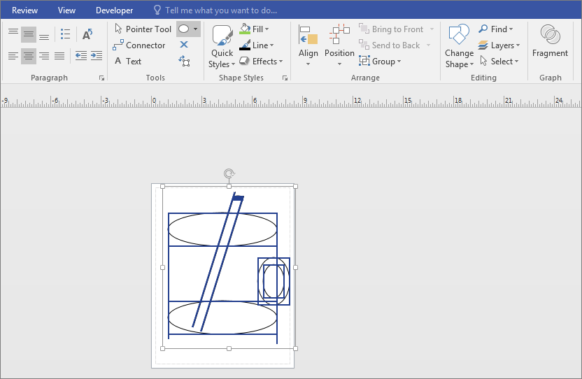 Trim Lines And Shapes Visio