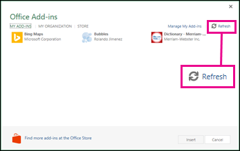 Start using your Office Add-in - Office Support