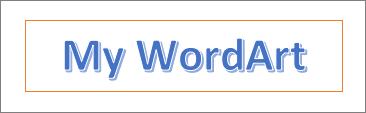 WordArt example