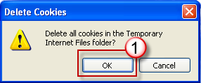 In the Delete Files dialog box, click to select the Delete all offline content check box, and then click OK