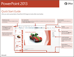 powerpoint 2013 quick start guide powerpoint. Black Bedroom Furniture Sets. Home Design Ideas