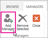 Add Manager