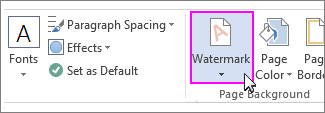 image of the add watermark button