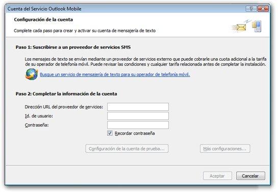 Buscar un proveedor de SMS