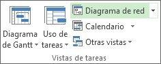 Imagen del botón Diagrama de red en la pestaña Vista.