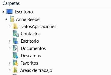 Las áreas de trabajo de SharePoint Workspace 2010 aparecen en esta carpeta del sistema de archivos