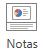 En la pestaña Vista de la cinta, en el grupo Mostrar, seleccione Notas.