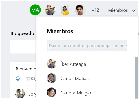 Captura de pantalla: que muestra mientras escribe el nombre del invitado, planificador identifica el invitado.