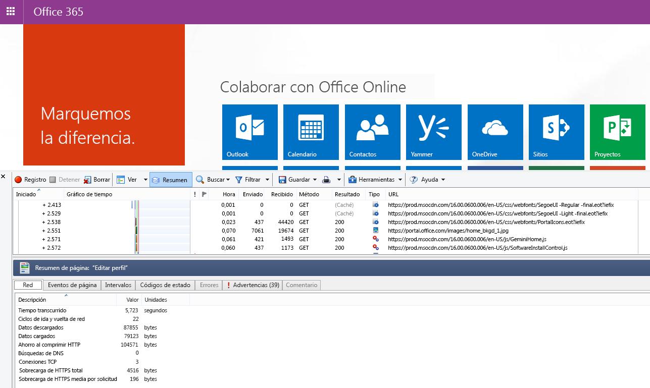 Plan de solución de problemas de rendimiento para Office 365 ...