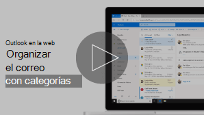 Imagen en miniatura de organizar correo electrónico con vídeo de categorías