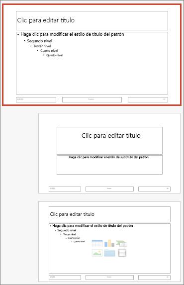 Patrón de diapositivas de PowerPoint para Mac