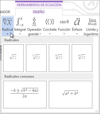 Estructuras matemáticas radicales