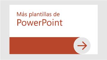 Más plantillas de PowerPoint