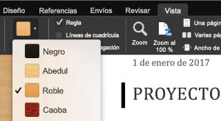 Característica de modo Focalizado en Office para Mac