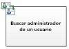 Buscar administrador de un usuario