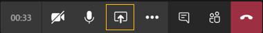 Icono Mostrar el escritorio resaltado
