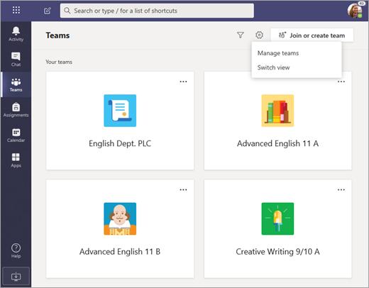 Presentación de la experiencia simplificada de Microsoft Teams para el  ámbito educativo - Soporte de Office
