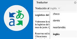 Leer el correo electrónico de Outlook en el idioma que prefiera