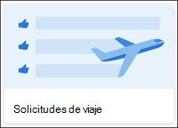Plantilla de lista de solicitudes de viaje