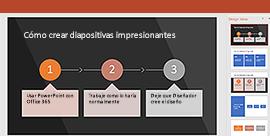 Característica Diseñador de PowerPoint