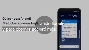 Miniaturas para widgets y métodos abreviados vídeo: haga clic para reproducir