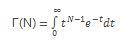 Ecuación GAMMA
