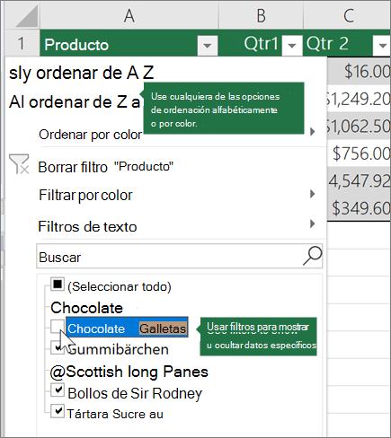 Descripcion General De Las Tablas De Excel Soporte De Office
