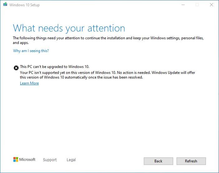 screenshot of safeguard hold dialog
