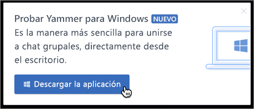 Mensajería integrada para Windows