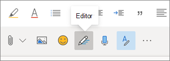 Botón del Editor