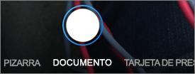 Opciones de digitalización de OneDrive para iOS