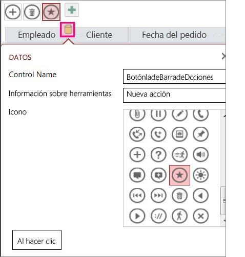 Agregue controles personalizados en una aplicación de Access