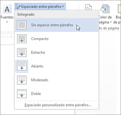Manejo de la informacion herramientas estandar de word for En word cual es el interlineado