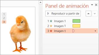 Aplicar varias animaciones a un objeto