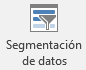 Insertar segmentación de datos