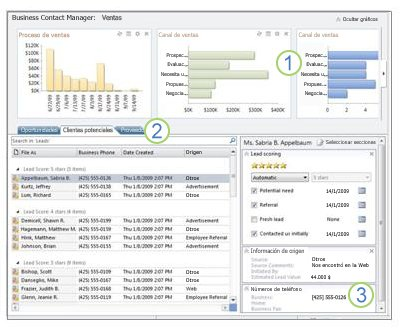 45886d7684c Pruébelo: Personalizar el área de trabajo de ventas - Outlook
