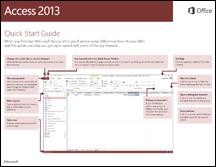 Guía de inicio rápido de Access 2013