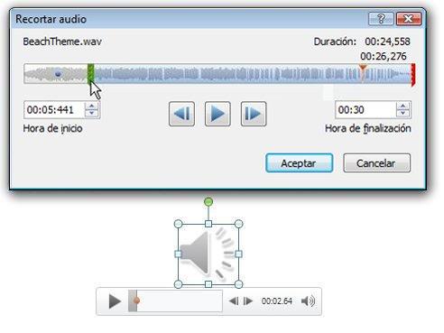 Recortar audio