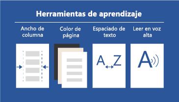 Cuatro herramientas de aprendizaje disponibles que facilitan la lectura de documentos