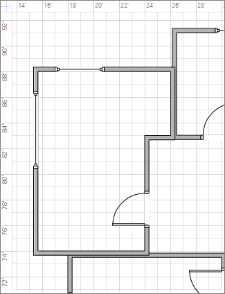 """Configuración de las líneas de la cuadrícula en """"Fino"""""""