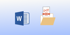 Ver archivos PDF en Word para Android