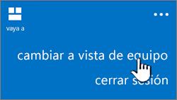 botón de vista de PC
