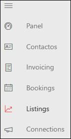 Captura de pantalla: Icono de Listings