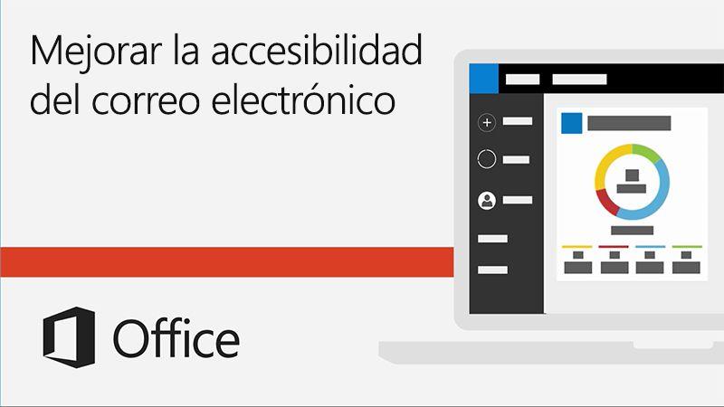Mejorar la accesibilidad del correo electrónico