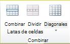 Grupo de combinación de tablas en Publisher 2010