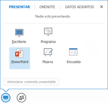 Compartir un PowerPoint