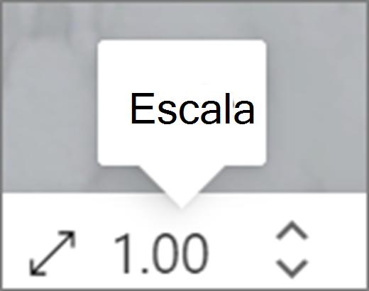 UI de escala